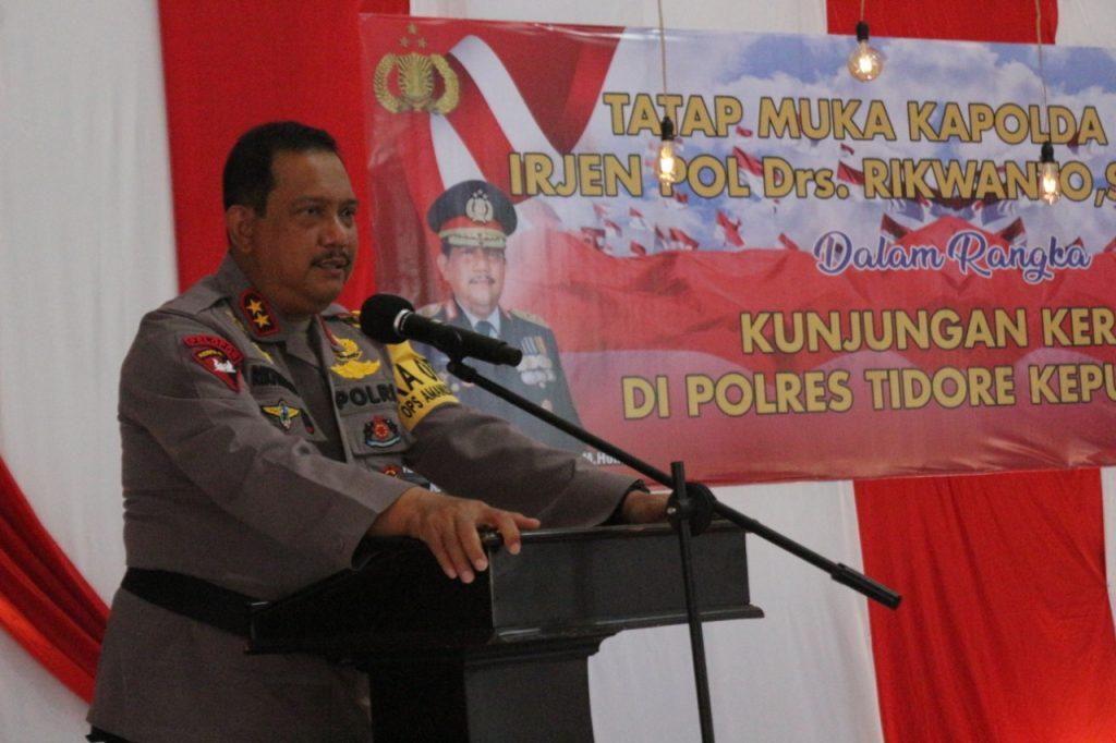 Kapoda Malut, Irjen Pol. Drs. Rikwanto, S.H., M.Hum (Foto Istimewa Liputan Malut)