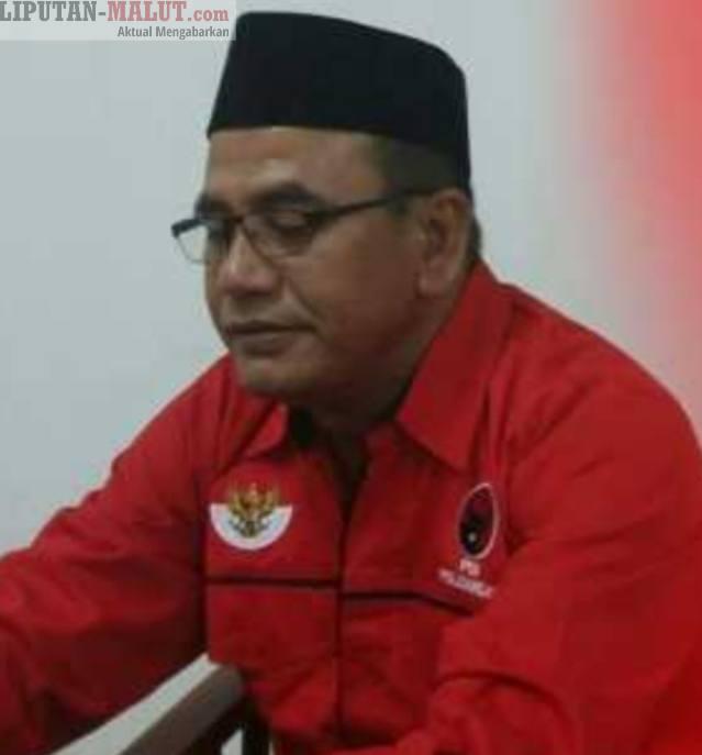 Mantan Ketua DPC PDIP Halsel, Jaib Hard (Foto Redaksi Liputan Malut)
