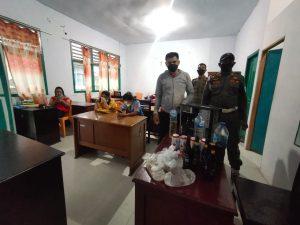 Barang Bukti Minuman Keras Yang Disita Satuan Polisi Pamong Praja (Foto Redaksi Liputan Malut)