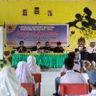 PWI Halut Sosialisasi jurnalistik di SMA Muhammadiyah Galela (Foto WP Liputan Malut)