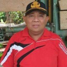 Kepala BPBD Halsel Abukarim La Tara